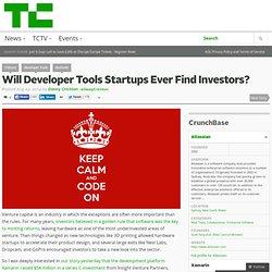 Will Developer Tools Startups Ever Find Investors?