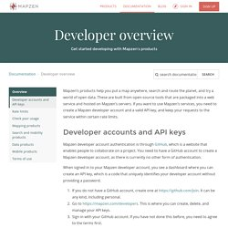 Developer overview