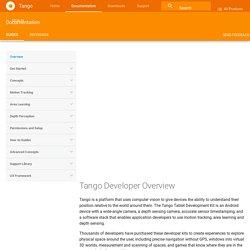 Tango Developer Overview