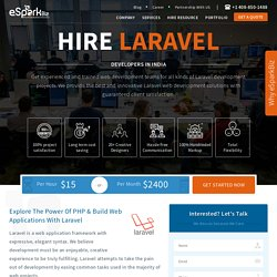 Hire Professional Laravel Experts - eSparkBiz
