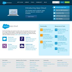 Developer Force: Salesforce.com & Force.com Developer Resources