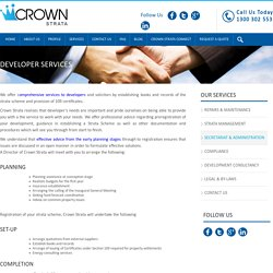 Crownstrata Development Services