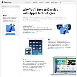 Developer Technologies Overview - Apple Developer