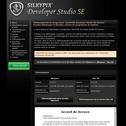 SILKYPIX Developer Studio SE Version