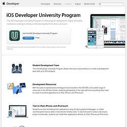 iOS Developer University Program