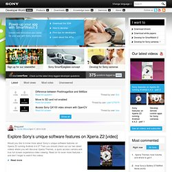 Developer World - Docstools - Search-downloads - Devworld - Sony Ericsson