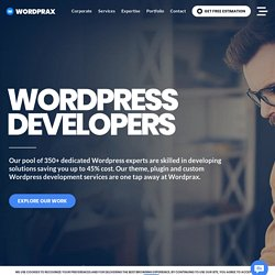 Hire Wordpress Developers, Consultants, Experts