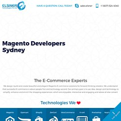 Magento Developers Sydney