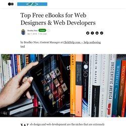 Top Free eBooks for Web Designers & Web Developers - Web Development Zone - Medium