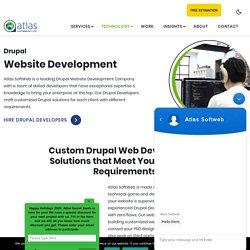 Drupal Web Development Services USA