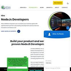 Node.js Development Services At Atlas SoftWeb