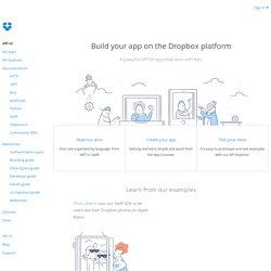 DropBox APIs