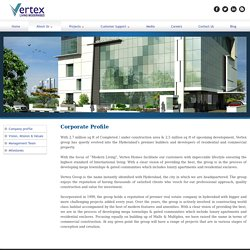 Vertex Homes – Premier Builder & Developers in Hyderabad, Telangana