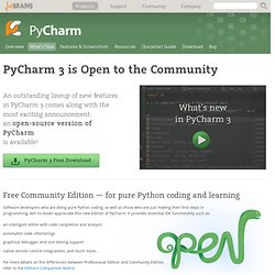PyCharm: What's New