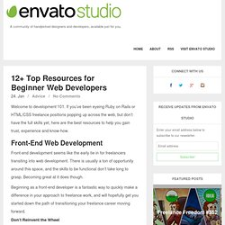 12+ Top Resources for Beginner Web Developers