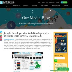 Joomla Developers - Offshore team for USA, UK and Australia