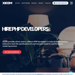 Hire PHP Developers, Offshore Experts India