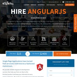 Offshore AngularJS Programmers from eSparkBiz
