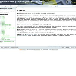 developers:projects:gsoc2012:ropensci [R Wiki]