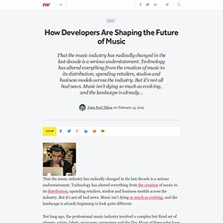 How Developers Are Shaping the Future of Music