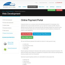Get Online Payment Portal Solution from our Expert Team