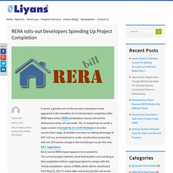 RERA rolls-out Developers Speeding Up Project Completion