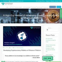 Methods of Developing Cryptocurrency Wallet on Ethereum Platform - BAF