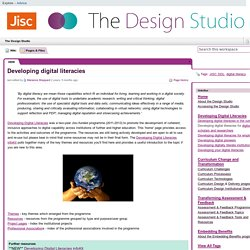 Jisc Developing Digital Literacies programme