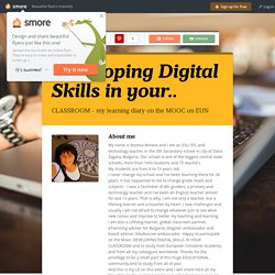 Developing Digital Skills in your..