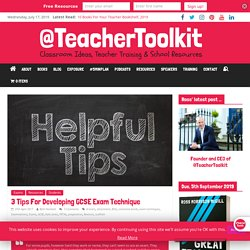 Developing Exam Techniques for the New 1-9 GCSE