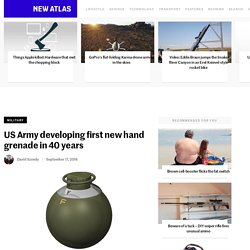 US Army developing first new hand grenade in 40 years