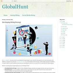 Developing Hiring Strategy
