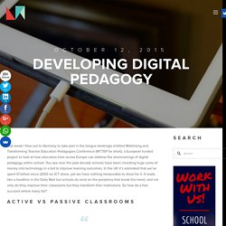 Developing Digital Pedagogy — LearnMaker