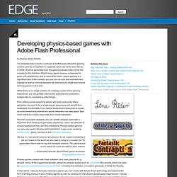 Edge: April 2010 - Developing physics-based games with Adobe Flash Professional