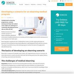 La scénarisation d'un programme d'e-learning médical - Dokeos