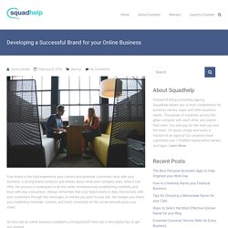 Brand for your Online Business