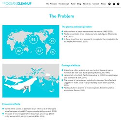 The Problem: The Ocean Cleanup, developing technologies to extract, prevent a...