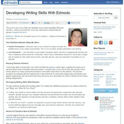 Developing Writing Skills With Edmodo