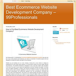 How to Find Best Ecommerce Website Development Company?