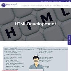 HTML Development Services – Affordable HTML Developer