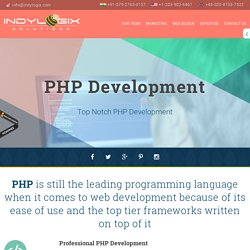 PHP Development Agency – Custom PHP Development Services
