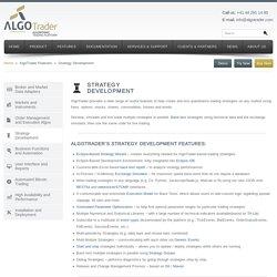 Strategy Development - AlgoTrader