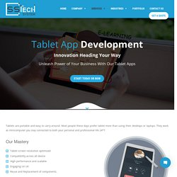 Android Tablet Software Development