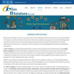 Revolutionary iPhone Application Service Chandigarh