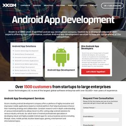 Offshore Android Apps Development Outsourcing India