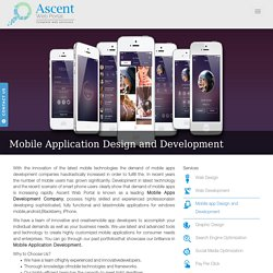 Mobile App Development Company - Android, iPhone, iPad Application Development India