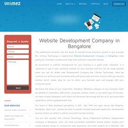 Best Web Application Development Services in Bangalore