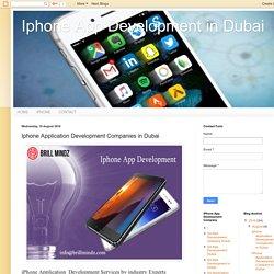 Iphone App Development in Dubai: Iphone Application Development Companies in Dubai