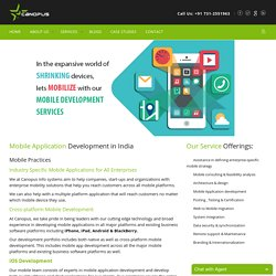 Android, iPhone, Windows Application Development India