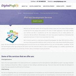 iPad App Development Services, iPad Application Development Company India
